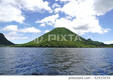 榛名湖에보다 하루나 산 희망 42935639