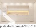 kitchen, interior, white 42936210