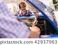 car, grandpa, engine 42937063