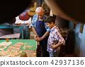 grandpa, grandson, lute 42937136