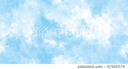 鮮豔細緻的抽象粉彩向量三角形幾何背景 42940574