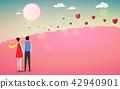 Happy Valentine's Day. Romantic love couple. 42940901