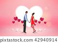 Happy Valentine's Day. Romantic love couple. 42940914