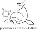 图画书 海豚 白鲸 42945840