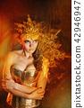 Girl in fancy dress 42946947