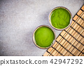 Tea ceremony, table top view 42947292