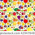 colorful, fruit, pattern 42947648
