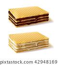 格子鬆餅 比利時鬆餅 鬆餅 42948169