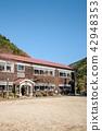 학교, 초등학교, 목조교사 42948353