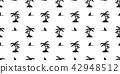 鲨鱼 无缝的 样式 42948512