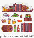 Brewing and Beer Festivals Icon Set 42949747