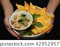 Thai green curry with chicken 42952957