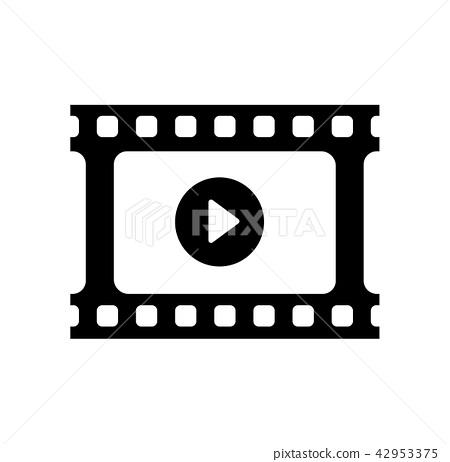 電影·底片·電影·電影圖標 42953375