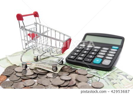 硬幣 儲蓄 計算機 42953687