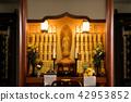 buddhist altar, altar, an altar 42953852