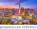 Indianapolis, Indiana, USA Cityscape 42954022