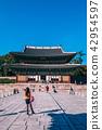 Old building of Changdeokgung Palace, Seoul, Korea 42954597