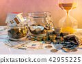 Saving money. Property investment concept 42955225