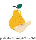 Healthy organic pear 42955260