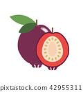 Healthy organic strawberry guava 42955311