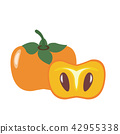 Healthy organic persimmon 42955338