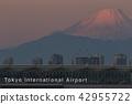 羽田机场 富士山 红富士 42955722