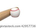 3d, baseball, ball 42957736