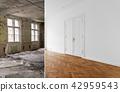 renovation, room, door 42959543