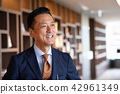 中間商人辦公室畫象企業圖像 42961349