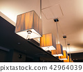 Ceiling light lamp decoration interior 42964039