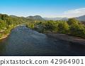 View of Tonegawa Tanigawadake from Numata City, Gunma Prefecture 42964901