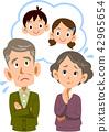 一對擔心孫子的老夫妻 42965654