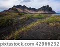 Vestrahorn mountain in summer ,Iceland. 42966232