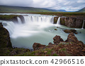 Godafoss is a waterfall in Iceland. 42966516