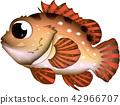 물고기, 생선, 캐릭터 42966707