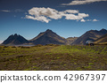 Vestrahorn Stockknes mountain ,Iceland Summer. 42967397