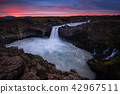 Aldeyjarfoss waterfallsin the north of Iceland 42967511