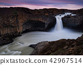 Aldeyjarfoss waterfallsin the north of Iceland 42967514