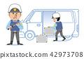 治安警卫现金运输例证 42973708