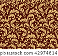 pattern floral background 42974614