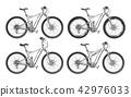 Sports bicycles set 42976033