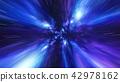 Jump in Time vortex tunnel blue galaxy background 42978162