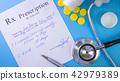 Prescription list to patient 42979389