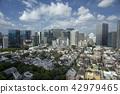 도시 시나가와 고텐 야마 고급 주택가 오피스 빌딩 지역 고층 타워 타와만 억 션 오 사키 역 42979465