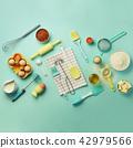 Time to bake. Baking ingredients - butter, sugar 42979566