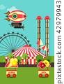 Carnival Amusement Park 42979943