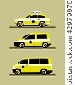Set taxis machines 42979970