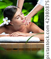 spa massage 42980875