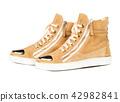 shoes, footwear, brown 42982841