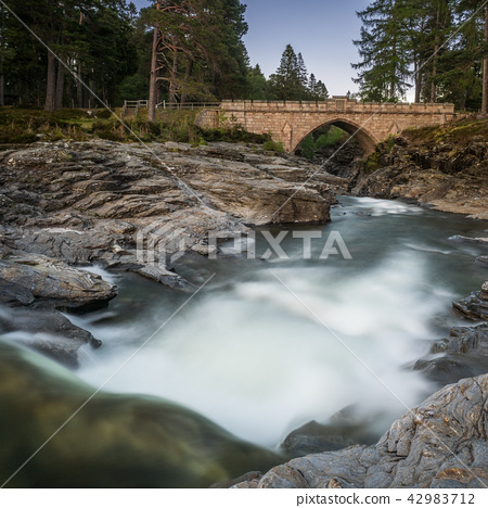 The old Bridge at the Linn of Dee 42983712